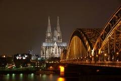 cologne собора Стоковые Фото