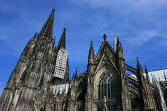 Cologne. A view of the Cologne Cathedral, Germany Stock Photo