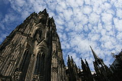 Cologne. A view of the Cologne Cathedral, Germany stock image