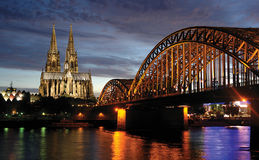 Cologne, Allemagne Image stock