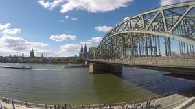 Cologne, Allemagne banque de vidéos