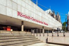 COLOGNE, ALLEMAGNE - 9 AVRIL 2008 : Bâtiment de M Romano-germanique photo libre de droits