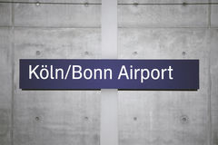 Cologne / Bonn airport Royalty Free Stock Image