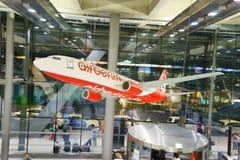 Cologne Bonn Airport interior Royalty Free Stock Photo