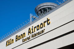 Cologne Bonn Airport Stock Photography