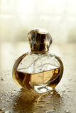 Cologne bottle. Several different bottles of perfumes stock photography