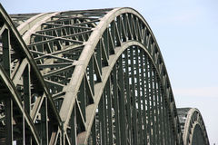 Cologne bridge Royalty Free Stock Image