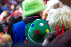 Cologne carneval people background Royalty Free Stock Image