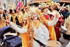 Cologne Carnival parade Royalty Free Stock Images
