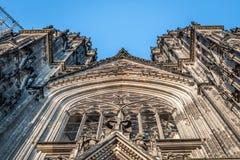 Cologne Cathedra arkivbilder