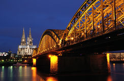 Cologne cathedral. The Cologne cathedral in Germany royalty free stock images