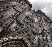 Cologne Cathedral. Front side of the Cologne Cathedral,Germany Stock Image