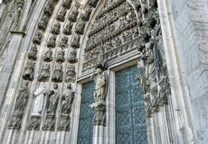 Cologne Cathedral. (German: Koelner Dom, officially Hohe Domkirche St. Peter und Maria, English: High Cathedral of Sts. Peter and Mary), a Roman Catholic church Royalty Free Stock Images
