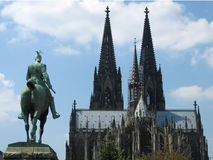 Cologne Cathedral. The rear of Cologne Cathedral, Germany Stock Image