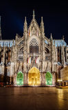 Cologne Cathedral dacade and all its splendour Royalty Free Stock Image