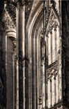 Cologne Cathedral Detail Stock Photography