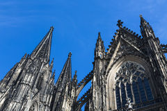 Cologne Cathedral Detail, Germany Royalty Free Stock Photo