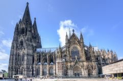 Cologne Cathedral in Germany royalty free stock photography