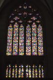 Cologne Cathedral - Gerhard Richter - stained glass window Royalty Free Stock Image