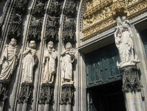 The Cologne Cathedral Germany Royalty Free Stock Photo