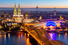 Cologne Cathedral Germany Royalty Free Stock Photos