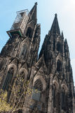 Cologne Cathedral, Germany. Cologne Cathedral (High Cathedral of St. Peter) is a Roman Catholic church in Cologne, Germany Stock Image