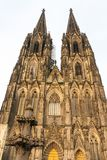 The Cologne Cathedral in Germany Stock Image