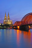 Cologne Cathedral,Germany,Rhine Stock Images