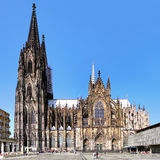 Cologne Cathedral, Germany. Cologne Cathedral on the south side, Germany Stock Images