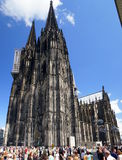 Cologne Cathedral. (High Cathedral of St. Peter) is a Roman Catholic Church in Cologne, Germany. It is the seat of the Archbishop of Cologne and the stock photography