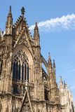 Cologne Cathedral (Koelner Dom). Dedicated to the saints Peter and Mary, Cologne Cathedral (Koelner Dom) is the seat of the Catholic Archbishop of Cologne royalty free stock photo
