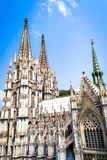 The cologne cathedral Royalty Free Stock Photo
