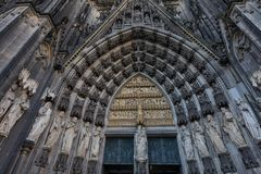 Free Cologne Cathedral, Monument Of German Catholicism And Gothic Architecture In Cologne, Germany Stock Photo - 160113560