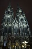 Cologne Cathedral In The Night Royalty Free Stock Photography