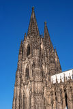 Cologne Cathedral. It ranked third in the list of the highest churches in the world and is listed World Heritage sites. Cologne Cathedral. Built in the Roman Royalty Free Stock Photos
