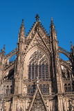 Cologne Cathedral. It ranked third in the list of the highest churches in the world and is listed World Heritage sites. Cologne Cathedral. Built in the Roman Stock Photos
