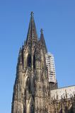 Cologne Cathedral Restoration. Restoration work being undertaken at Cologne Cathedral Germany Royalty Free Stock Images