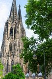 Cologne Cathedral in Germany Royalty Free Stock Photos