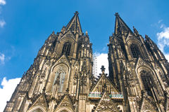 Cologne Cathedral of Saint Peter and Mary Stock Photo