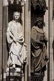 Cologne cathedral sculptures  Stock Photo