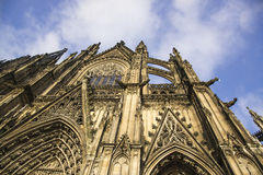 Cologne Cathedral. World Heritage - a Roman Catholic Gothic cath Stock Image