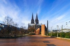 Cologne Cathedral. World Heritage - a Roman Catholic Gothic cathedral in Cologne Stock Photography