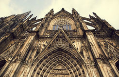 Cologne Cathedral. World Heritage - a Roman Catholic Gothic cathedral in Cologne. Stock Image