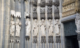 Cologne Cathedral. World Heritage - a Roman Catholic Gothic cathedral in Cologne. Royalty Free Stock Photography