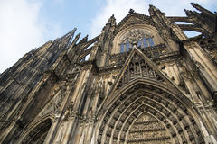 Cologne Cathedral. World Heritage - a Roman Catholic Gothic cathedral in Cologne. Royalty Free Stock Image