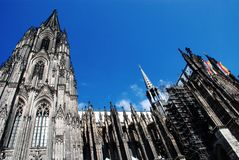 Cologne Cathedral01 Royalty Free Stock Photos