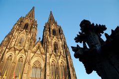 cologne cathedral27 Arkivbild