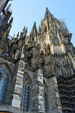 Cologne CathedralGerman: Kölner Dom. Cologne Cathedral, the beautiful Gothic cathedral Royalty Free Stock Photography