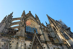 Cologne CathedralGerman: Kölner Dom. Cologne Cathedral, the beautiful Gothic cathedral Stock Photos