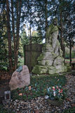 Cologne - Cemetery Royalty Free Stock Photography
